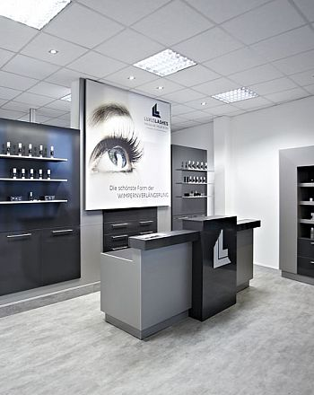 LUXUSLASHES® Lounge - Franchisesystem