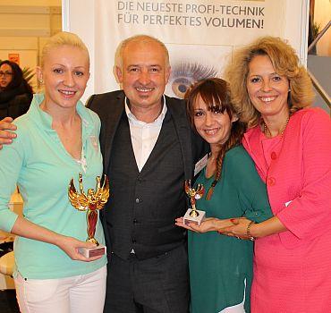 Österreichische Wimpernmeisterschaft in Wien