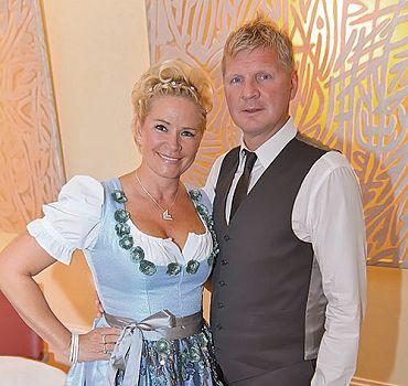 Claudia und Stefan Effenberg bei der Sportgala Hofburg Wien