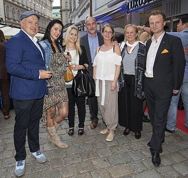 Eröffnung LUXUSLASHES® Lounge Wien 1