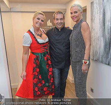 Eröffnung LUXUSLASHES® Lounge Wien 1, Natascha Ochsenknecht, Claudia Effenberg