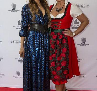 Eröffnung LUXUSLASHES® Lounge Wien 1, Ronja Hilbig, Claudia Effenberg