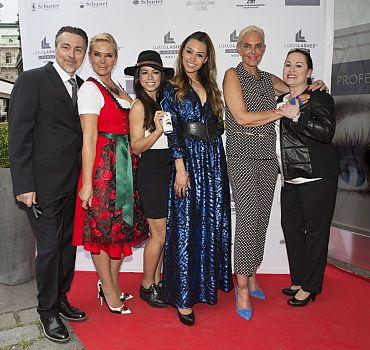 Eröffnung LUXUSLASHES® Lounge Wien 1, Ronja Hilbig, Natascha Ochsenknecht, Fernanda Brandao, Claudia Effenberg, Rivera, Kings, Parisi
