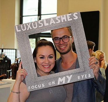 LUXUSLASHES®, Fashionweek Berlin, Wimpernverlängerung
