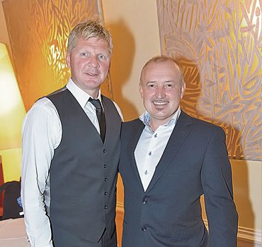 Stefan Effenberg und Henryk Foltynek bei der Sportgala Hofburg Wien