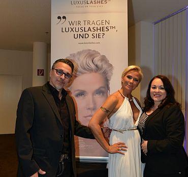LUXUSLASHES®,Wimpernverlängerung,Wien,Event,Baumann,Claudia Effenberg