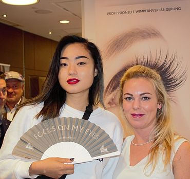 LUXUSLASHES®, Fashionweek Berlin 2017