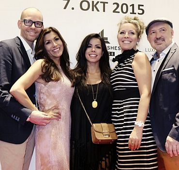 LUXUSLASHES® Lounge Hannover, Fernanda Brandao, Regina Foltynek, Henryk Foltynek
