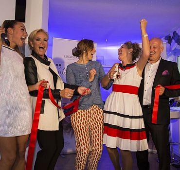 LUXUSLASHES®,Wimpernverlängerung,Wien,Opening,Event,ABglanz,Claudia Effenberg