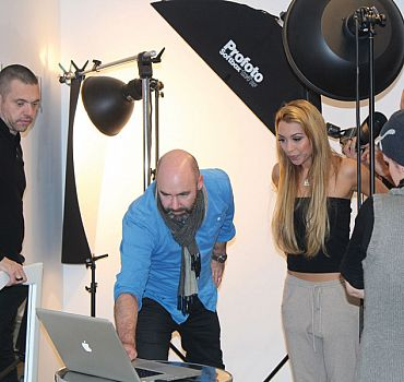 LUXUSLASHES® Fotoshooting mit Ronja Hilbig