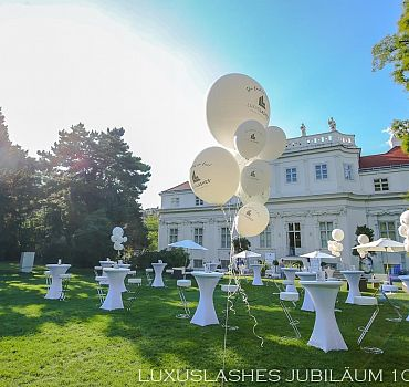 Luxuslashes, Jubiläum, Palais Schönburg