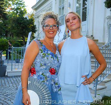 Luxuslashes, Jubiläum, Palais Schönburg , Kim Hnizdu