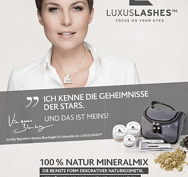 LUXUSLASHES® Mineral Make up Blumhagen
