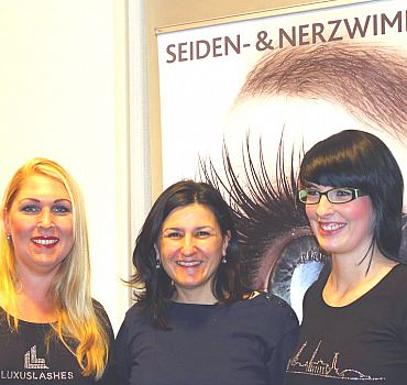 LUXUSLASHES®, Fashionweek, Wimpernverlängerung, Wimpern