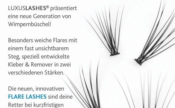 Flare Lashes für zu Hause